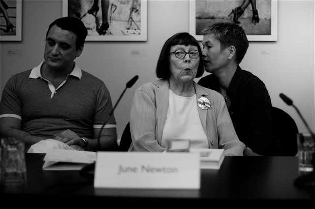 Alice Springs (June Newton) Press Conference Helmut Newton Foundation Berlin