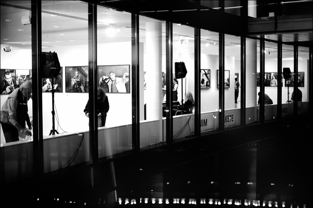 Gallery view of Jim Rakete exhibition at Willy-Brandt-Haus Berlin